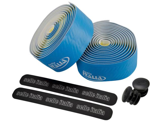 Selle Italia Smootape Controllo Lenkerband Eva Gel 2,5 mm blau